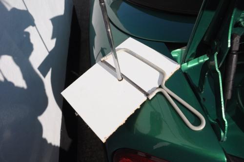 Renault Megane Cabriolet - Aerial Replacement